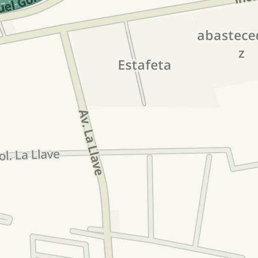 Waze Livemap - Cómo llegar a Cedis Bimbo - Guadalajara, Tlaquepaque
