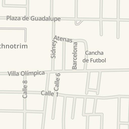 Monclova Mexico Map.Waze Livemap Driving Directions To Technotrim Monclova Mexico