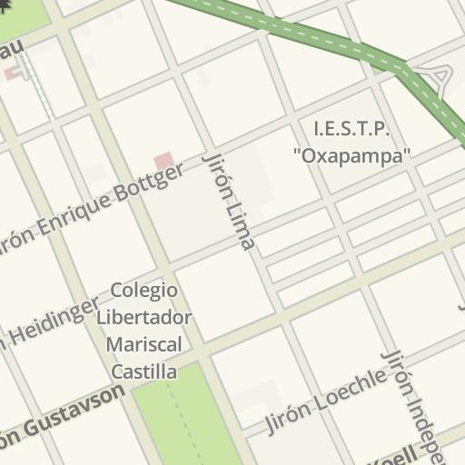 Oxapampa Peru Map.Waze Livemap Driving Directions To Ferreteria Kkato Oxapampa Peru