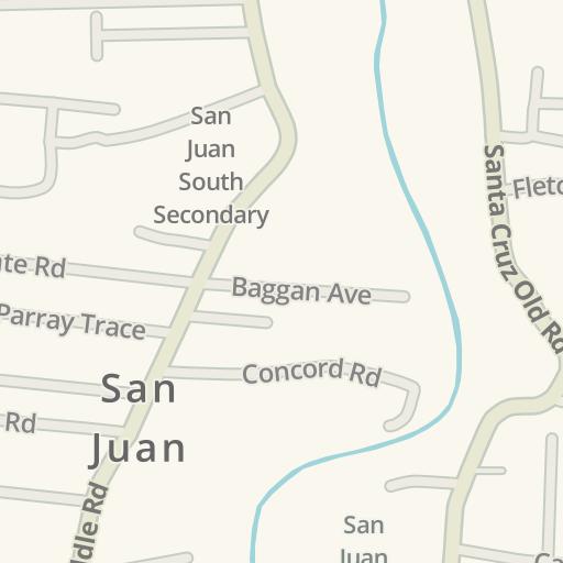 Driving Directions to Rickhams Moneygram San Juan, San Juan ... on map of spanish caribbean, map of sir francis drake, map of spanish conquest, map of spanish mexico,