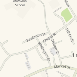 Waze Livemap - Driving Directions to Brown Cow Car Park, Dalton in