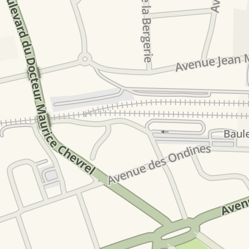 Waze Livemap Driving Directions To Leroy Merlin La Baule