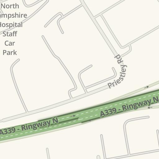 Waze Livemap Driving Directions To Cornerstone Nursery Basingstoke United Kingdom