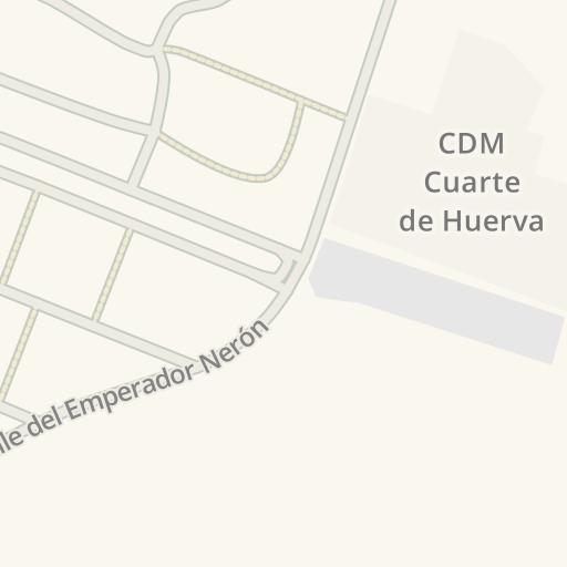 Waze Livemap - Cómo llegar a Ayuntamiento de Cuarte de ...