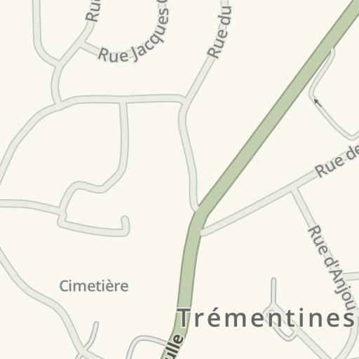 Driving Directions to Bodet Sa, Trémentines, France | Waze