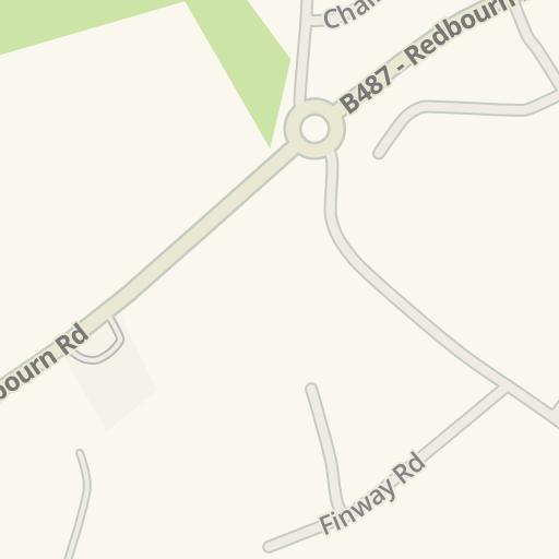 Waze Livemap Driving Directions To Euro Car Parts Hemel Hempstead