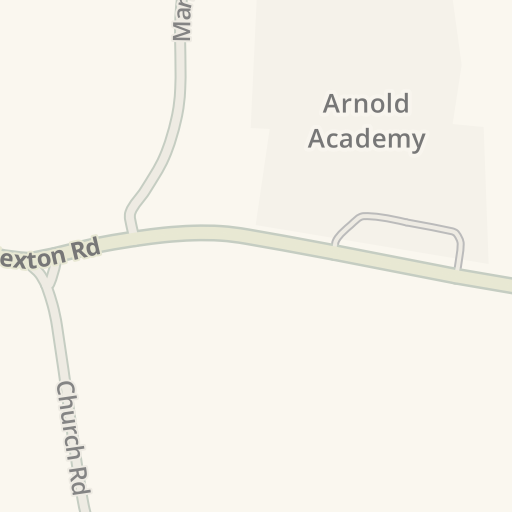 Waze Livemap - Driving Directions to Arnold Academy, Barton
