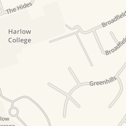 Waze Livemap - Cómo llegar a HSBC, Essex, United Kingdom