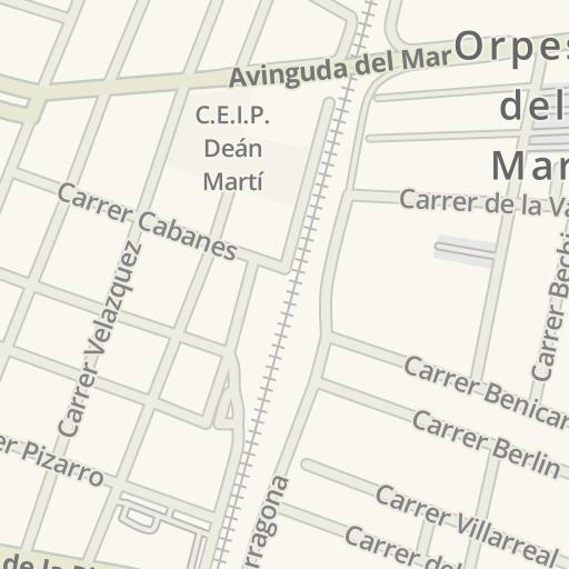Waze Livemap Cómo Llegar A Centro Médico Oropesa Del Mar Orpesa