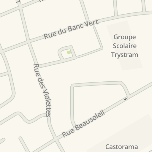 Waze Livemap - Driving Directions to La salle a manger, Dunkerque ...