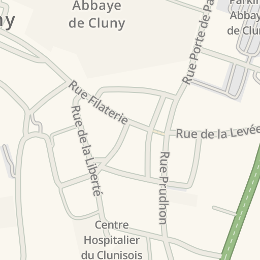 Cluny France Map.Waze Livemap Driving Directions To Atac Cluny France