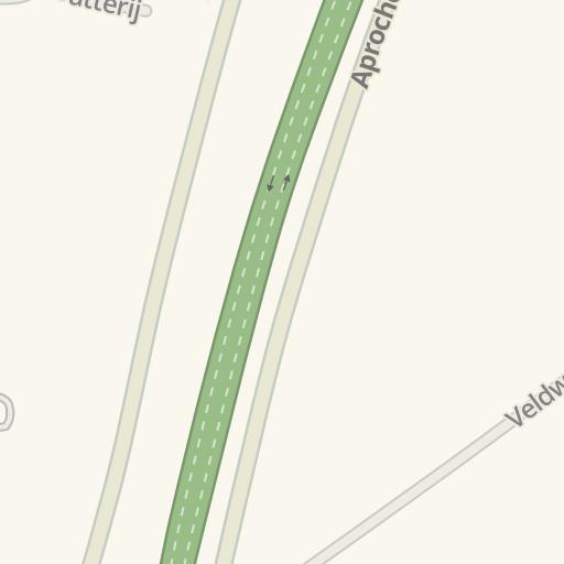 waze livemap - driving directions to aktief kringloop, groenlo
