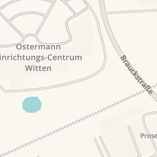 waze livemap driving directions to trends witten germany
