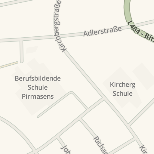 Waze Livemap Driving Directions To Messplatz Pirmasens Germany