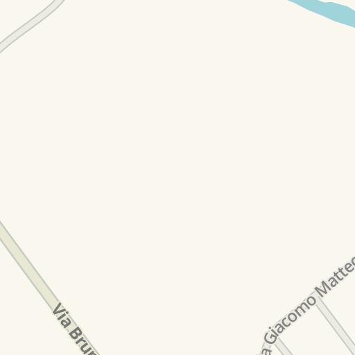 Waze Livemap - Driving Directions to Mercatone dell'arredamento ...