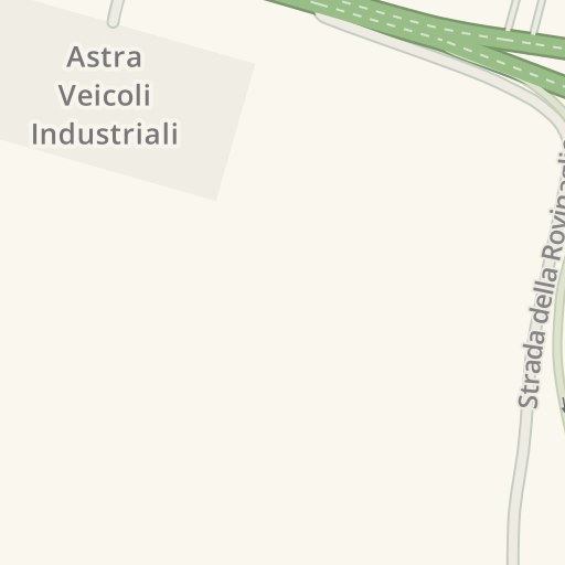 Waze Livemap - Driving Directions to Astra Veicoli Industriali
