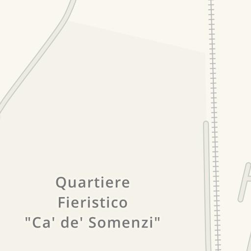 Waze Livemap - Driving Directions to Bimbo Store, Cremona, Italy