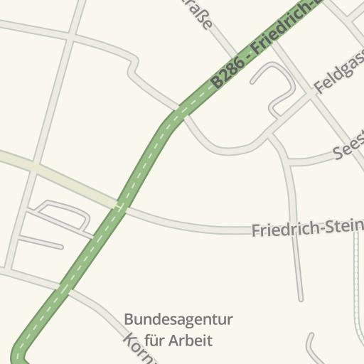 Waze Livemap Driving Directions To St Kilian Schweinfurt Germany