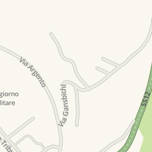 Waze Livemap - Driving Directions to Soggiorno Militare, Colle ...