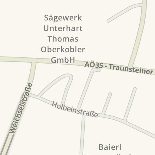 Waze Livemap Driving Directions To Baierl Amp Demmelhuber