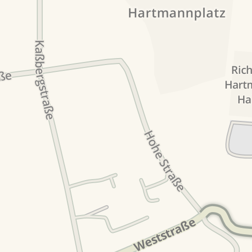 Waze Livemap Driving Directions To Repo Chemnitz Germany