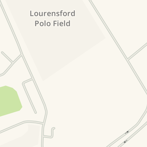 waze livemap - driving directions to lourensford polo field, erinvale golf  estate, somerset west, suid-afrika