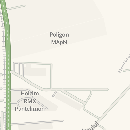 Waze Livemap Driving Directions To Poligon Mapn Pantelimon Romania