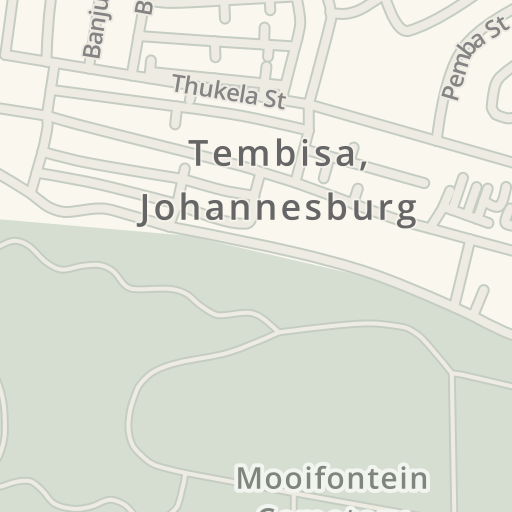 Waze Livemap - Driving Directions to Tembisa Cemetery, Birchleigh ...