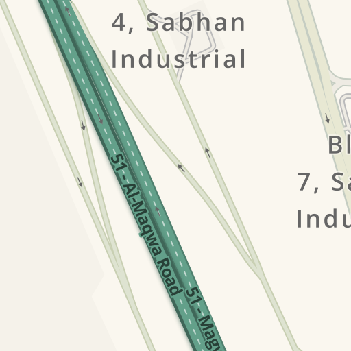 Driving Directions to Ipack packaging company, Sabhan