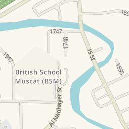 Waze Livemap - Driving Directions to British School Muscat (BSM