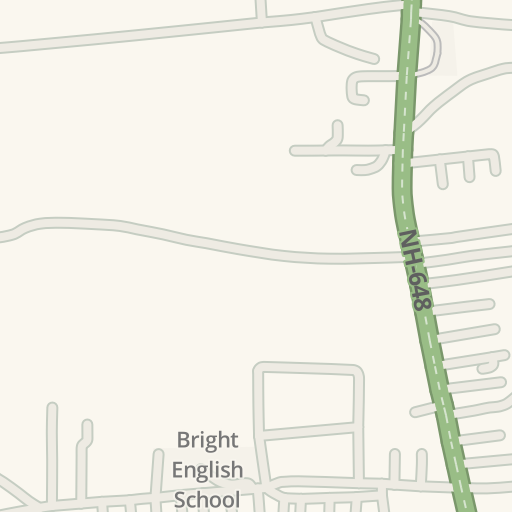 Waze Livemap - Driving Directions to Bharath Matha School