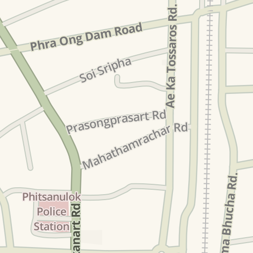 Phitsanulok Thailand Map.Waze Livemap Driving Directions To Nan River Phitsanulok Thailand
