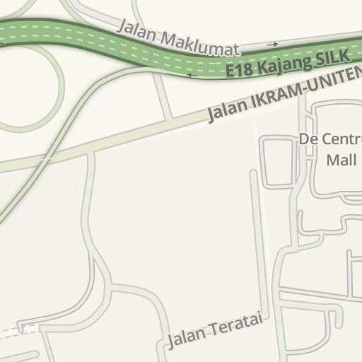 Waze Livemap - Driving Directions to ILSAS, Kajang, Malaysia