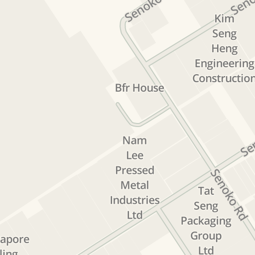 Driving Directions to FHS FORMWORK HIRE ( S E A ) PTE LTD, Woodlands