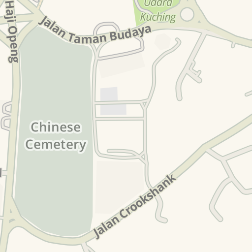 Waze Livemap Driving Directions To Dapur Kampung Special Lalapan Kuching Malaysia
