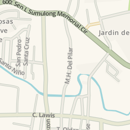 Waze Livemap Driving Directions to Antipolo City Hall of Justice