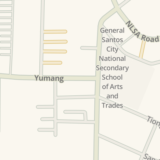 Driving Directions to Lagao Gym, General Santos, Philippines   Waze