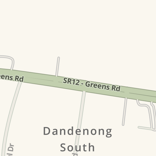 Driving Directions to CBC Bearings, Dandenong South