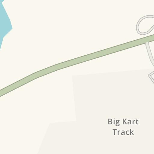 Waze Livemap - Driving Directions to Big Kart Track