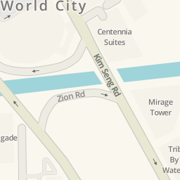 Waze Livemap Driving Directions to Great World City Office Tower