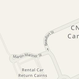 Driving directions to Avis Car Return Cairns Airport Aeroglen