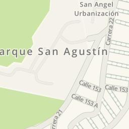 Driving directions to Urbanizacion san angel Floridablanca
