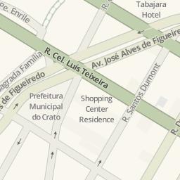 Driving Directions To Praça Crato Brazil Waze Maps - Crato map