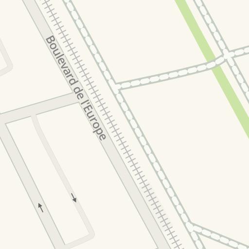 Driving Directions To Bus Levant Beauzelle Waze