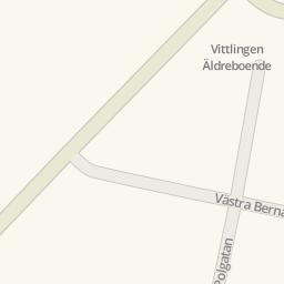 Driving Directions To Vittlingen Äldreboende Limhamn Sweden - Sweden map directions