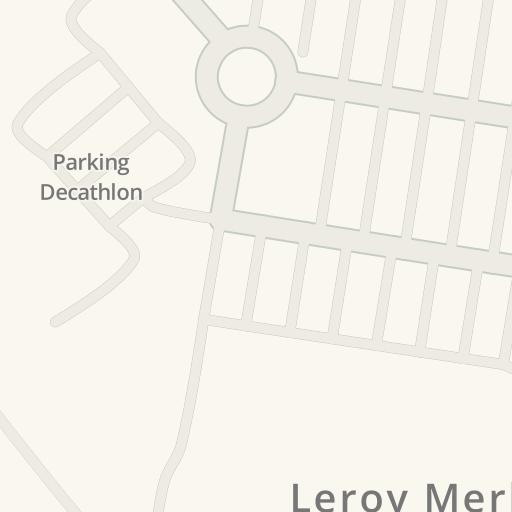 Driving Directions To Leroy Merlin Komorniki Glogowska 436 Poznan Waze