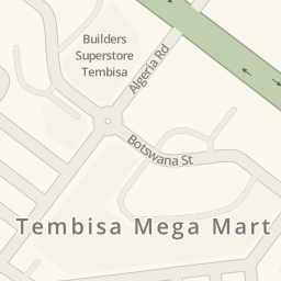 Driving directions to Builders Superstore Tembisa Olifantsfontein