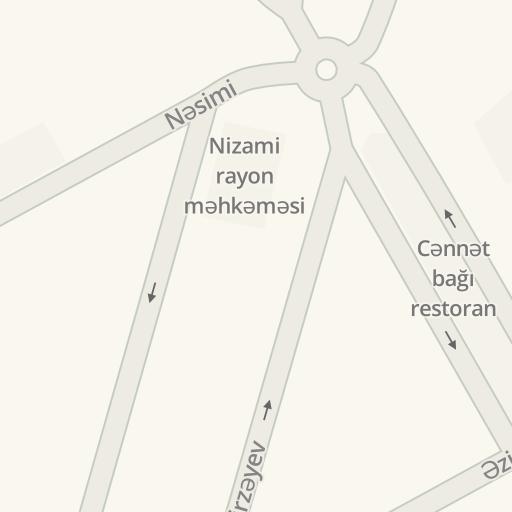 Driving Directions To 25 N Li Nizami Rayon Polis Bolmesi Baku Waze