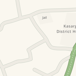 Driving Directions To Jail Kanhangad India Waze Maps - Kanhangad map